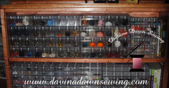 Skillfully handcrafted by my husband David, in Jan 2013 for button storage.