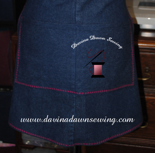 A close-up of the added double pockets. ~ Laura of Davina Dawn Sewing www.davinadawnsewing.com